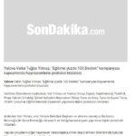 Yalova Group Basın - SonDakika.com